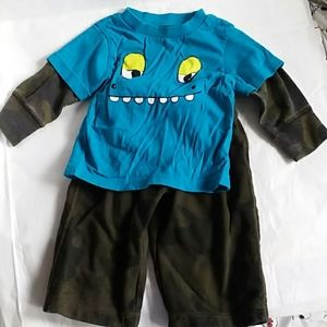 The children's place camo baby outfit